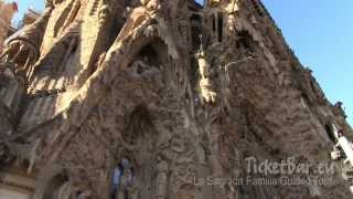 preview picture of video 'La Sagrada Familia, Barcelona - Skip the Line Guided Tour! Ticketbar.eu'