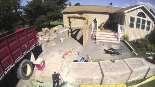 preview picture of video 'Westminster, MD Raised Patio with Pergola and Bar seating'
