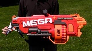 "Бластер Нерф Мега ""Мастодон"" (Nerf Mega Mastodon) от компании Интернет-магазин ""Timatoma"" - видео"
