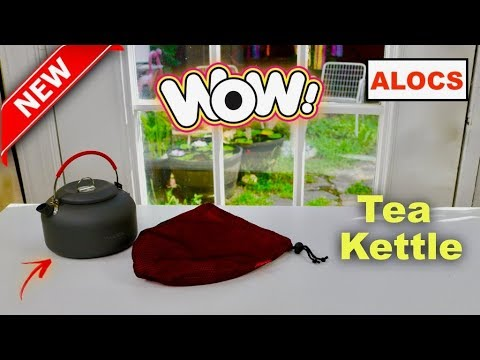 😍 ALOCS Camp ❤️ Portable Tea Kettle   - Review      ✅