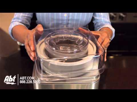 , Ice Cream Maker CHULUX Automatic Frozen Yogurt Sorbet Gelato Machine