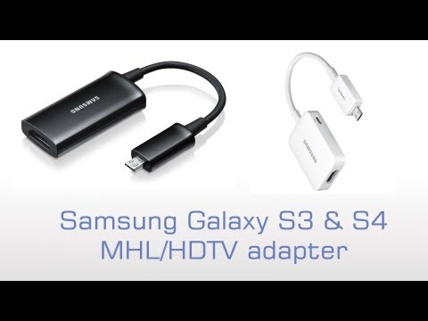 Samsung Galaxy S4 MHL/HDTV Adapter
