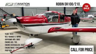 Robin HR100/210 Safari II for sale at AT Aviation
