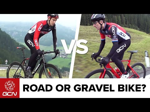 Road Vs Gravel Bike - Is A Gravel Bike Really Any Slower? | GCN Does Science