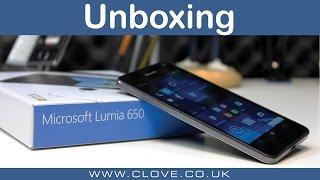 Microsoft Lumia 650 Unboxing