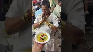 Gold Man ka Kulfi Faluda🤩🤩 #StreetFood #UniqueFood #IndoreFood #shorts - INDORE