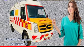Medilift Road Ambulance Service in Bokaro – Transfer Your Patients
