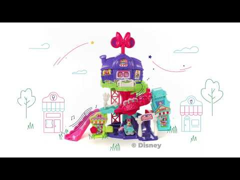 Minnie Mouse Around Town Playset | Go! Go! Smart Wheels® | Demo Video | VTech®