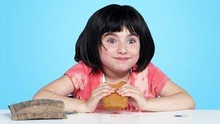 Kids Try US Military Food (MREs) | Kids Try | HiHo Kids