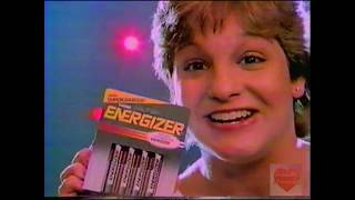 Energizer featuring Mary Lou Retton | Television Commercial | 1986