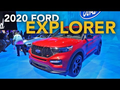 2020 Ford Explorer First Look - 2019 Detroit Auto Show
