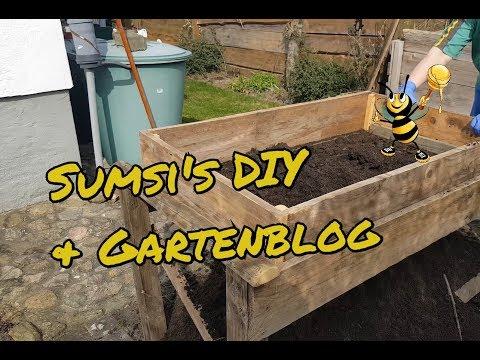 Das selbstgebaute Kompostsieb Rüttler