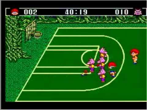Sega Master System - Basket Ball Nightmare