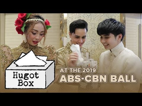 #MayWard, #LoiNie, and more at the 2019 ABS-CBN Ball | One Music Hugot Box Challenge