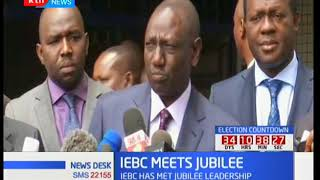 IEBC meeting with NASA and Jubilee fail