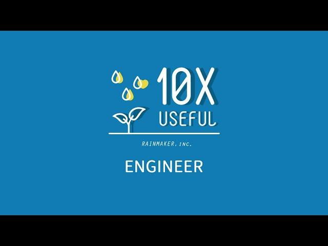 Recruit Movie of Engineers & Creators | レインメーカー株式会社 (Rainmaker Inc.)