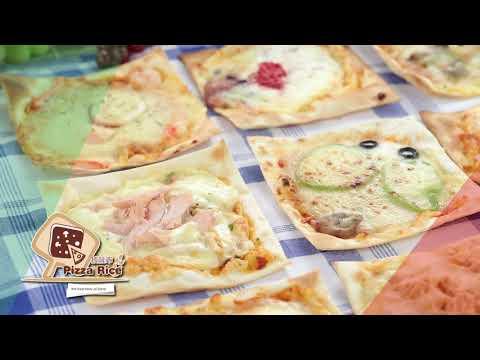 披薩市米披薩烤法-烤箱篇