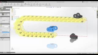 SOLIDWORKS 2015 - Chain Component Pattern