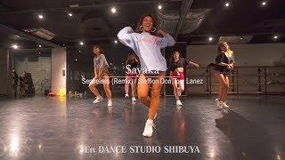 "$ayaka"" Senseless (Remix)  Stefflon Don,Tory Lanez ""@En Dance Studio SHIBUYA"