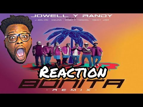 J Balvin - Bonita (Remix) ft. Nicky Jam, Wisin, Yandel, Ozuna, Jowell & Randy **REACTION**