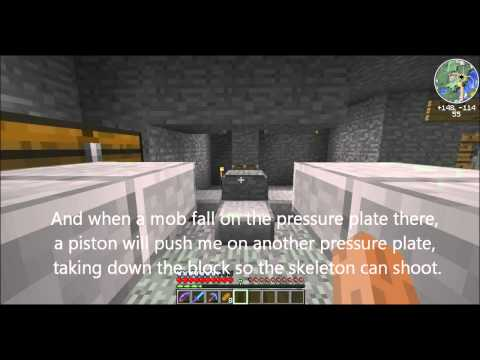 Fully Automatic Music Disc Farm Minecraft Project