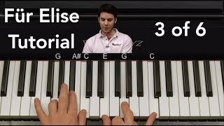 How to Play Für Elise by Beethoven Piano Tutorial Part 3 of...