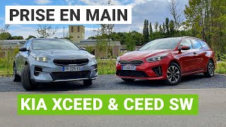Kia XCeed & Ceed SW : la fratrie hybride rechargeable