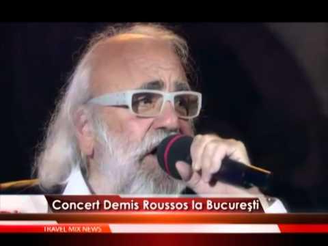 Concert Demis Roussos la Bucureşti