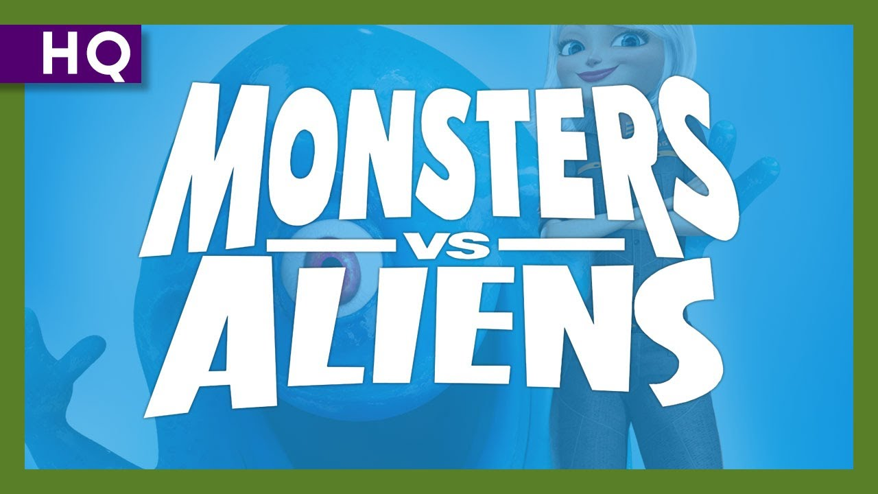 Video trailer för Monsters vs. Aliens (2009) Trailer