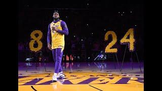 LeBron James Dedicates Heartfelt Speech To Kobe Bryant