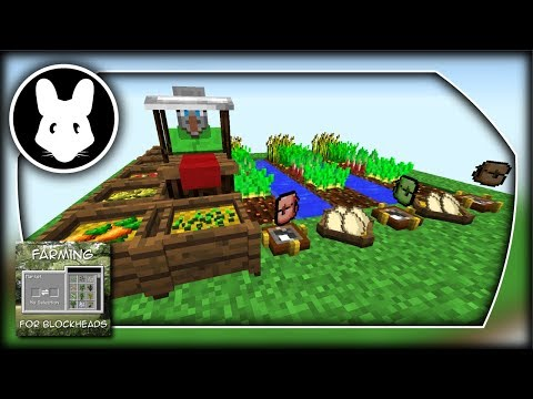 Farming For Blockheads for Minecraft 1.12! Bit-by-Bit by Mischief of Mice!