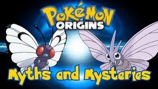 Venonat  - (Pokémon) - Pokemon Myths and Mysteries - Butterfree-Venomoth Theory