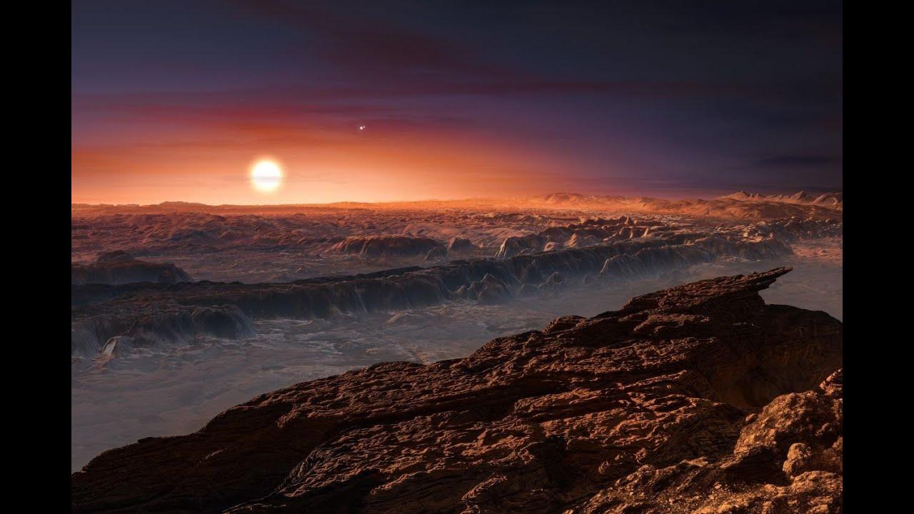 Próxima b, el exoplaneta más cercano.