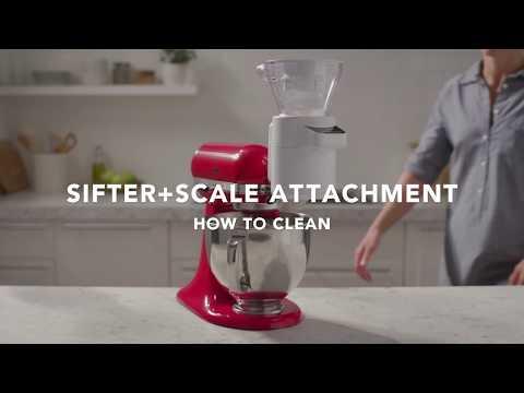 KitchenAid aksesuārs 5KSMSFTA sijāšanai un svēršanai cena un informācija | Virtuves kombaini | 220.lv