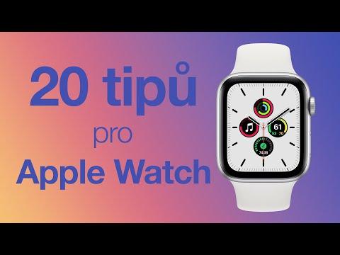 20 tipů pro Apple Watch, skrytých funkcí a triků