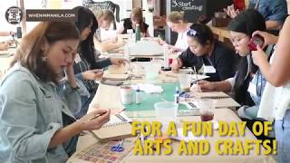 There's an arts and crafts workshop in Manila!