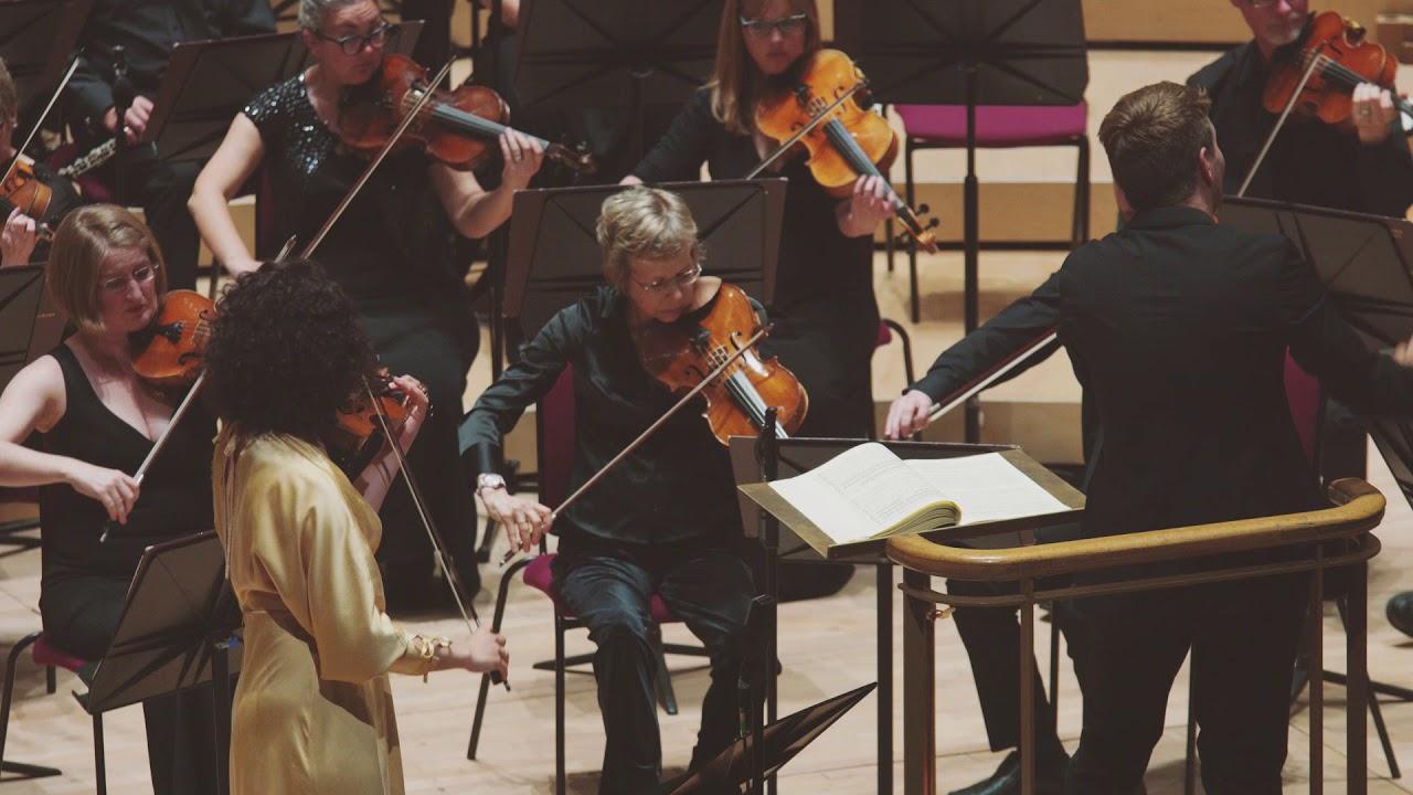 Mendelssohn Violin Concerto Op.64 (1844 version), 2nd mvt (RLPO/Duncan Ward)