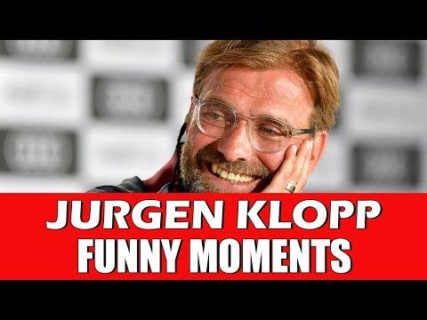 JURGEN KLOPP FUNNY MOMENTS   LIVERPOOL FOOTBALL CLUB MANAGER FUNNIEST MOMENTS