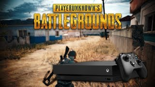 PUBG First Gameplay On XBOX!! PLAYER UNKNOWN BATTLEGROUNDS XBOX ( 7 Minutes Gameplay )