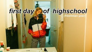 GET READY WITH ME: FIRST DAY OF HIGH SCHOOL (Freshman Year)