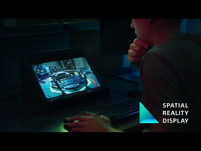 Дисплей пространственной реальности Sony создает удивительные голограммы