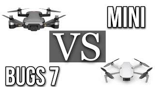 MJX Bugs 7 VS Mavic Mini :D