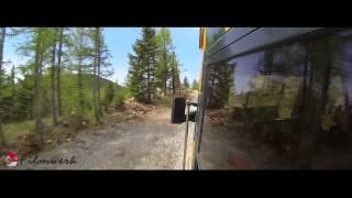 preview picture of video 'Eine Fahrt mit der Schneebergbahn/Salamanderbahn'