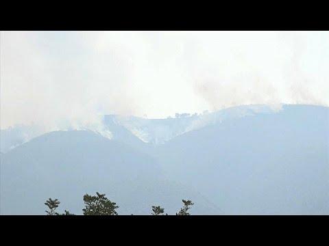 6º dia de fogo afetou concelho de Silves