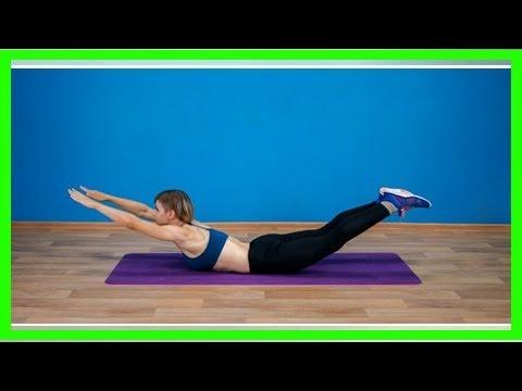 Как сделать осанку упражнения