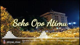 #sandios #Pendhoza Sandios Pendhoza   Seko Opo Atimu (cover Video HD)
