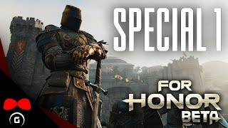 For Honor BETA | SPECIAL #1 | Agraelus | CZ Lets Play / Gameplay [720p60] [PC]