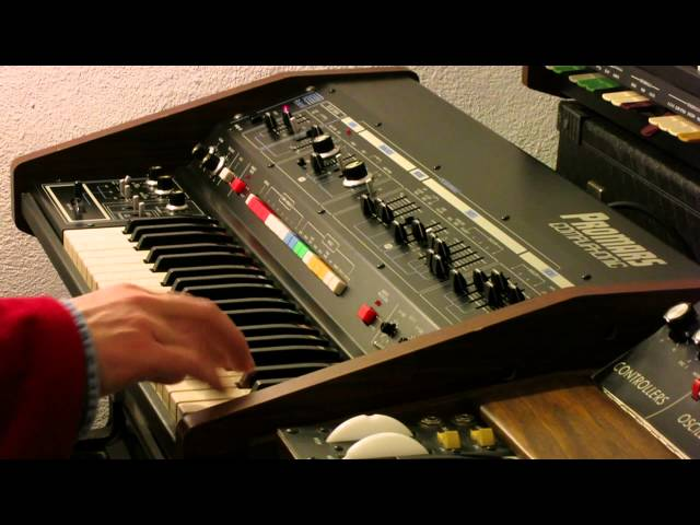 Roland Promars Compuphonic MRS-2 synthesizer - HD demo