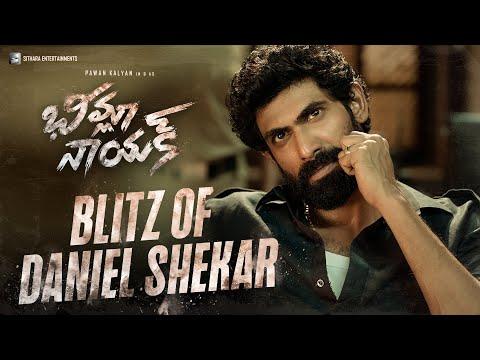#BheemlaNayak - Blitz of Daniel Shekar