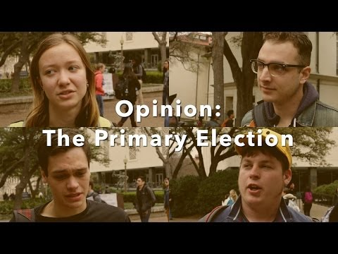 Opinion: The Primary Election
